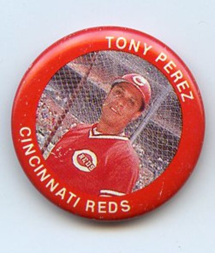 Photo of 1984 Fun Foods Pins #99 Tony Perez