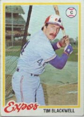Photo of 1978 Topps #449 Tim Blackwell DP RC