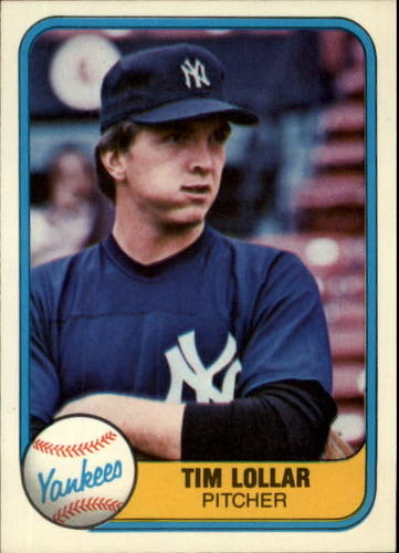 Photo of 1981 Fleer #108 Tim Lollar RC