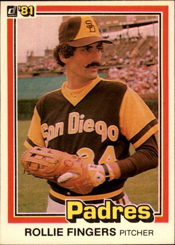 Photo of 1981 Donruss #2 Rollie Fingers