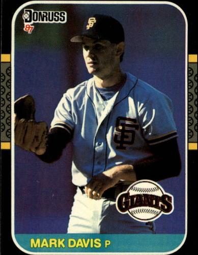 Photo of 1987 Donruss #313 Mark Davis
