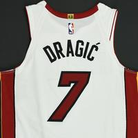 Goran Dragic - Miami Heat - NBA Mexico Games - Game-Worn Association Edition Jersey - Scored 20 Points - 2017-18 NBA Season