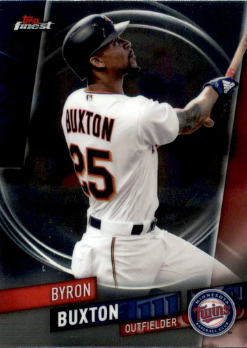 Photo of 2019 Finest #78 Byron Buxton