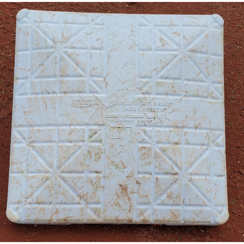 Photo of 2021 Phillies Game-Used Opening Day 1st Base - Jean Segura Walk-Off Single