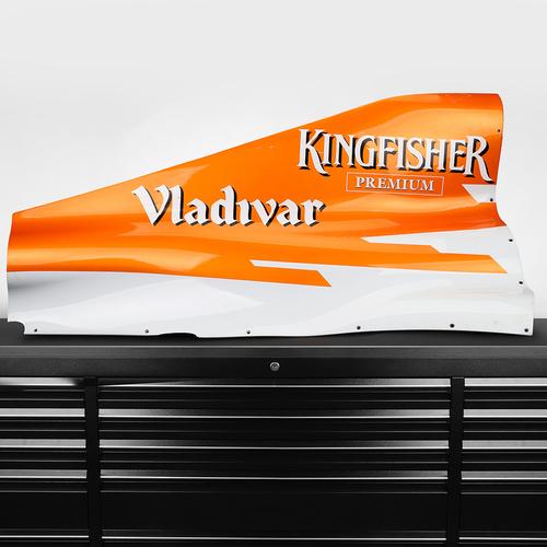 Photo of Sahara Force India F1 Team 2012 Orange Engine Cover