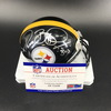 PCC - Steelers Jerome Bettis Signed Mini Helmet with Bus Inscription