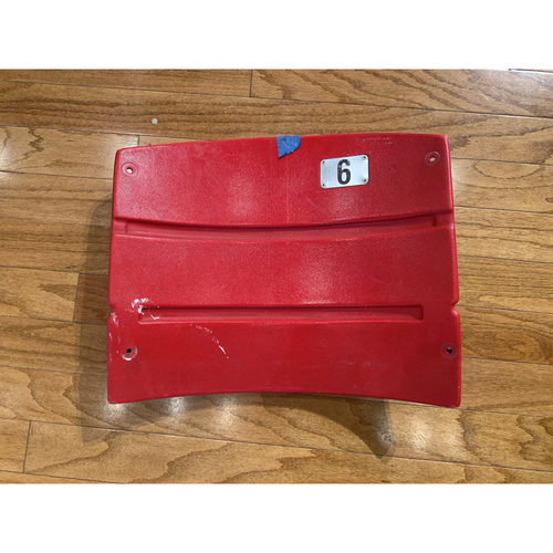 Photo of Fenway Park Red Seatback from Right Field Box Section 89