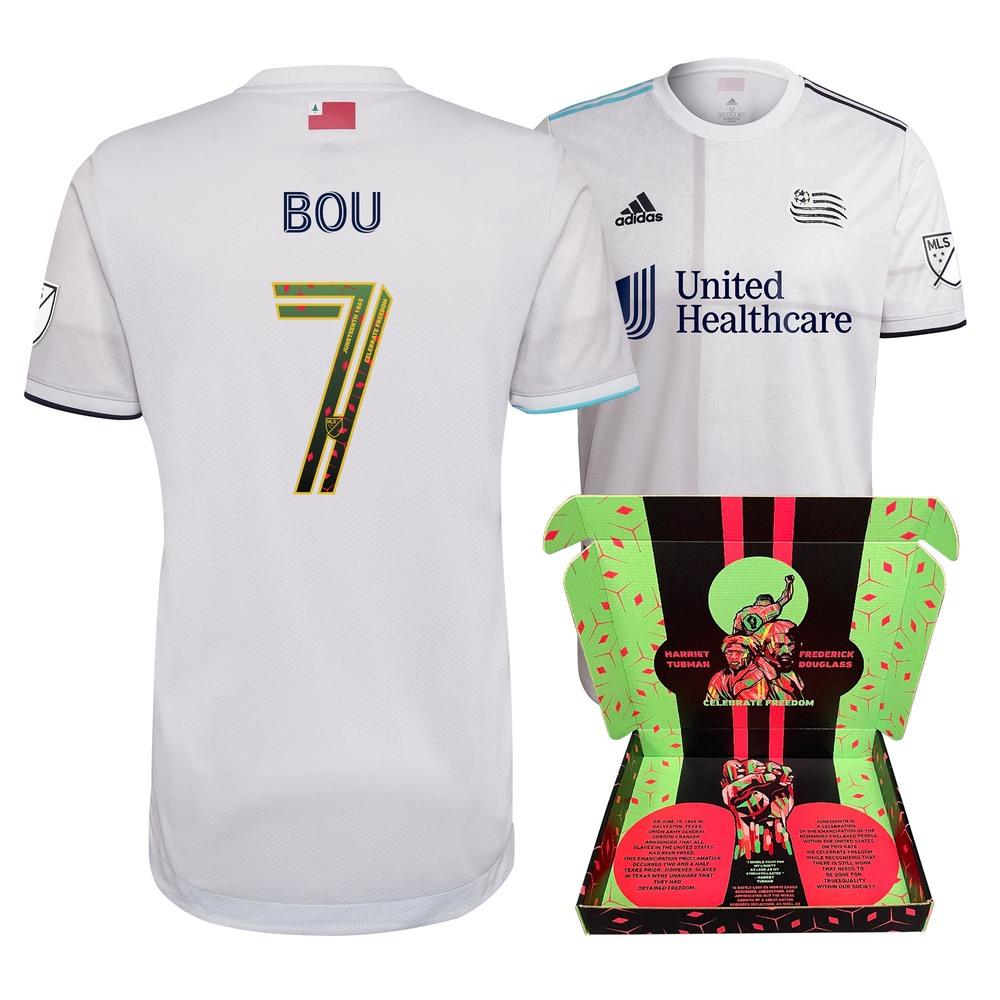 Gustavo Bou New England Revolution Match-Used & Signed