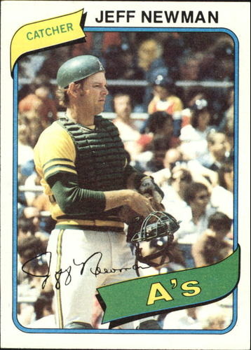 Photo of 1980 Topps #34 Jeff Newman DP