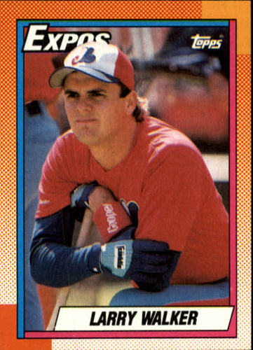 Photo of 1990 Topps #757 Larry Walker RC