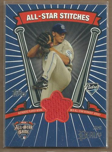 Photo of 2005 Topps Update All-Star Stitches #JP Jake Peavy D