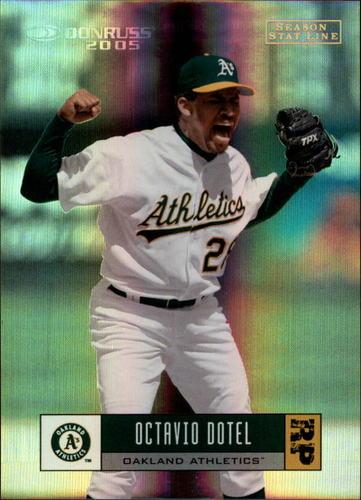 Photo of 2005 Donruss Stat Line Season #209 Octavio Dotel/72