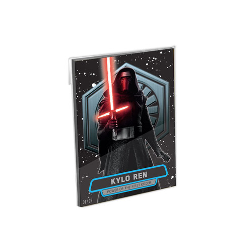 Star Wars The Force Awakens Series 2 Power of the First Order 5x7 Complete Set - # to 99