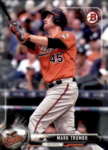 Photo of 2017 Bowman #68 Mark Trumbo