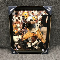 HOF - PACKERS DAVE ROBINSON SIGNED 11X14 FRAMED PICTURE