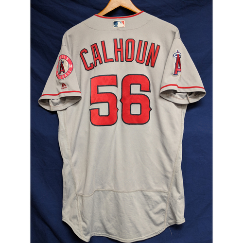 Photo of Kole Calhoun Game-Used Road Jersey
