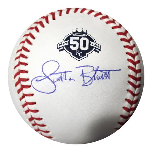 Photo of Autographed 50th Season Baseball: Scott Blewett