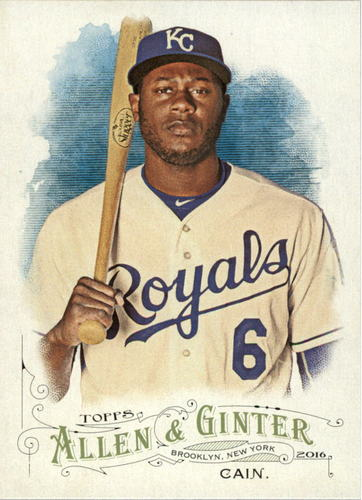 Photo of 2016 Topps Allen and Ginter #111 Lorenzo Cain