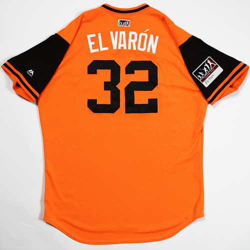 "Photo of Yefry ""El Varon"" Ramirez Baltimore Orioles Game-Used 2018 Players' Weekend Jersey"