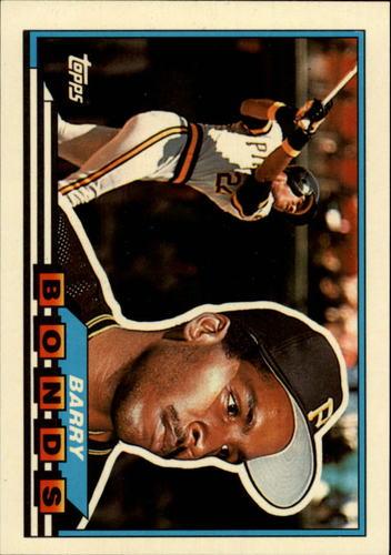 Photo of 1989 Topps Big #5 Barry Bonds