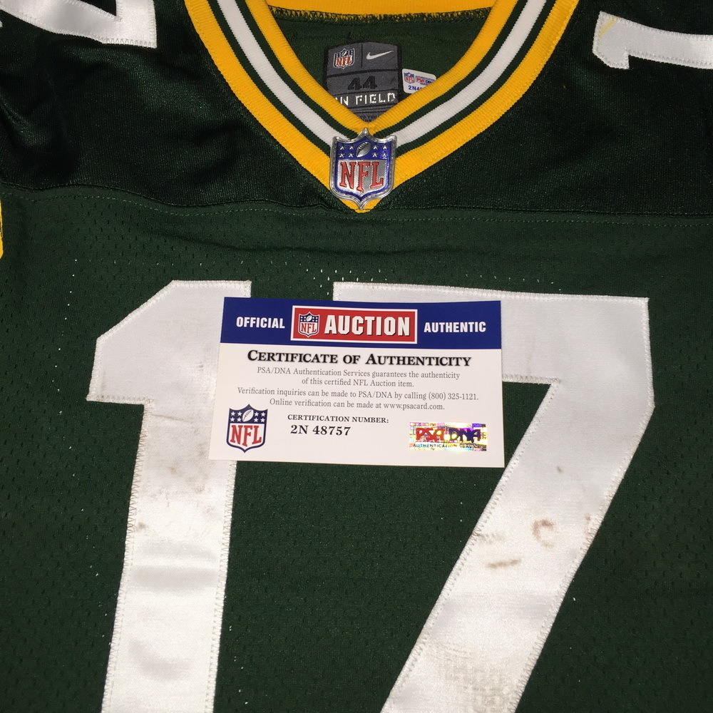 promo code 52504 487f4 NFL Auction | STS - Packers Davante Adams Game Worn Jersey ...