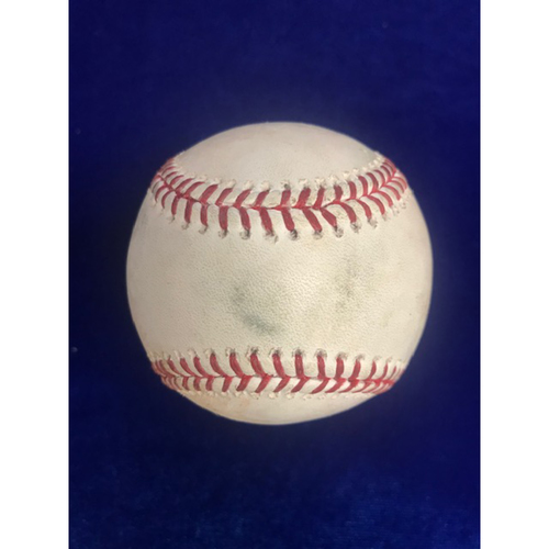 Photo of Game Used Baseball: Kole Calhoun Double September 28th 2018
