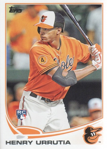 Photo of 2013 Topps Update #US329 Henry Urrutia RC