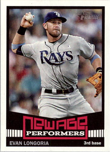 Photo of 2015 Topps Heritage New Age Performers #NAP14 Evan Longoria