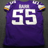 STS - Vikings Anthony Barr Signed and Game Issued Jersey Size 44 (11/4/18) w/ Captain's Patch