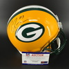 PCF - Packers Demarius Randell Signed Authentic Proline Helmet