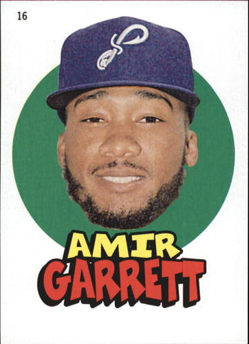 Photo of 2016 Topps Heritage Minors '67 Topps Stickers #16 Amir Garrett