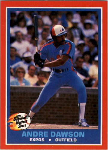 Photo of 1987 Fleer Hottest Stars #13 Andre Dawson