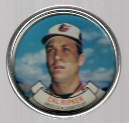 Photo of 1987 Topps Coins #23 Cal Ripken