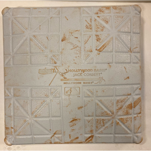 Photo of 2019 NLDS Game Used Base - Third Base Used During 4th, 5th, 6th Inning - 10/9/19 - Cardinals Clinch