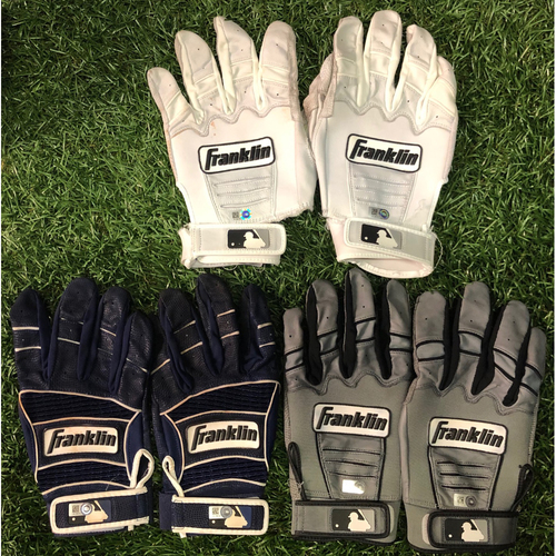 Photo of Team Issued Franklin Batting Glove Sets