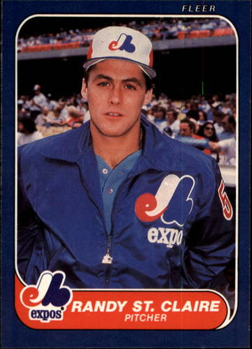 Photo of 1986 Fleer #261 Randy St.Claire