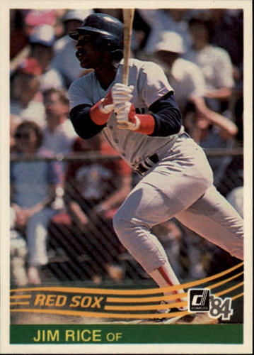 Photo of 1984 Donruss #50 Jim Rice