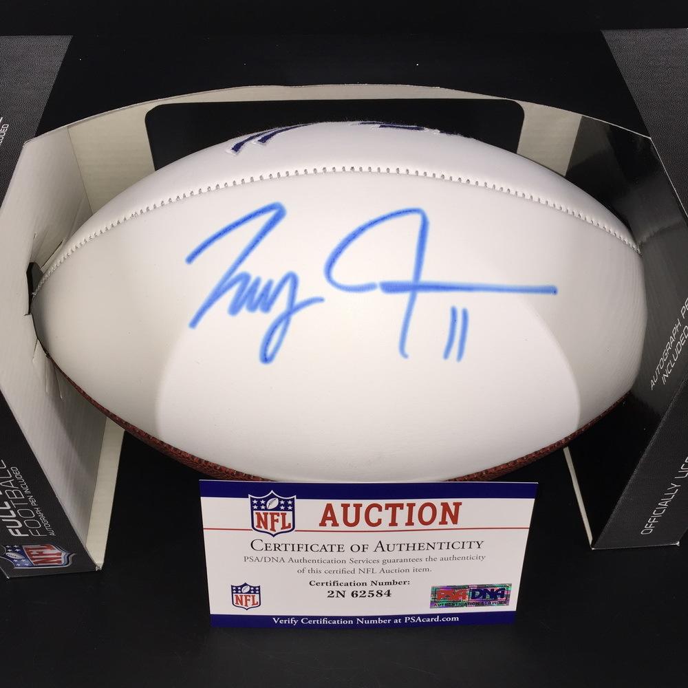 Bills - Isaiah Avery Signed Panel Ball with Bills Logo