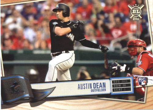 Photo of 2019 Topps Big League #289 Austin Dean RC