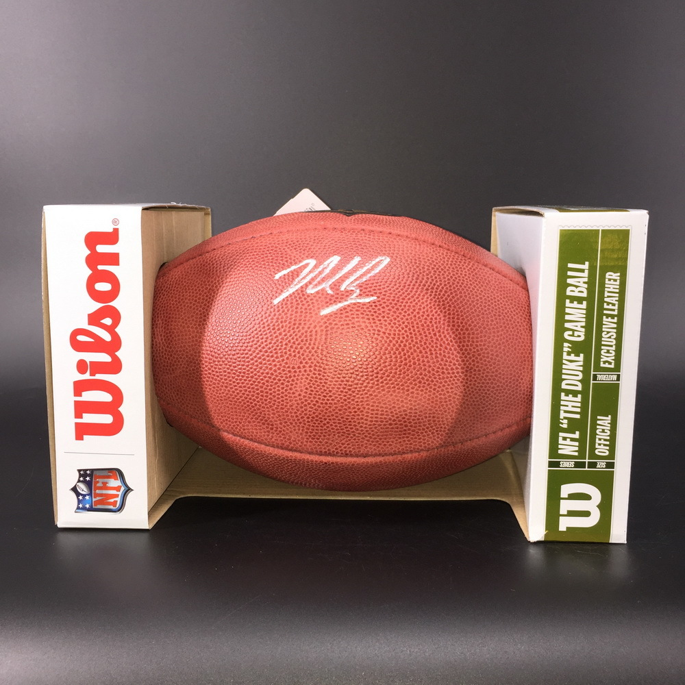 NFL - 49ers Nick Bosa Signed Authentic Football