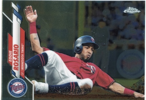 Photo of 2020 Topps Chrome #78 Eddie Rosario