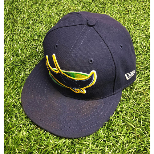 Photo of Team Issued Devil Rays Cap: Joey Wendle #18