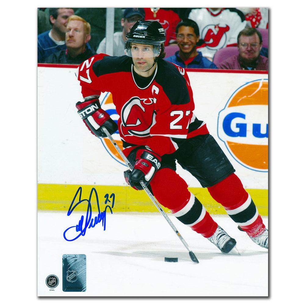 Scott Niedermayer New Jersey Devils ACTION Autographed 8x10 Photo