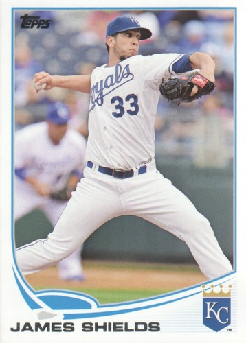 Photo of 2013 Topps Update #US245 James Shields