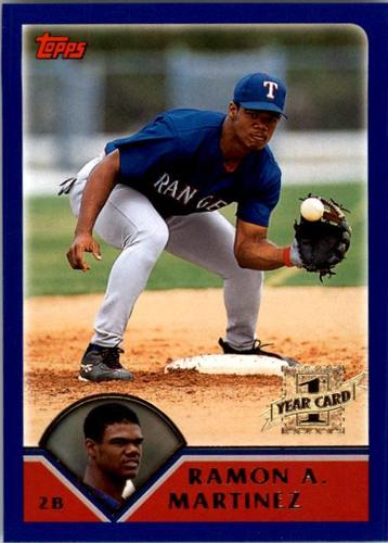 Photo of 2003 Topps #309 Ramon Nivar-Martinez FY RC