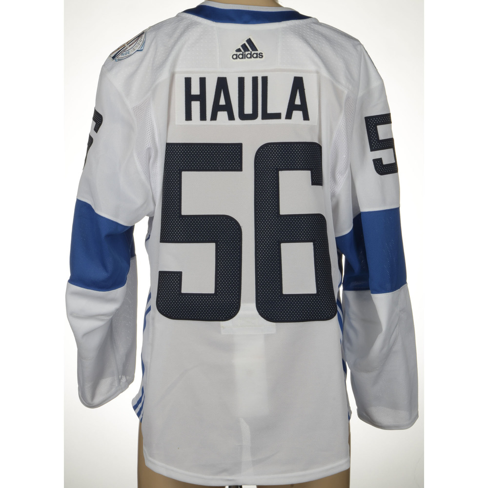 on sale 7a173 b897b Erik Haula Minnesota Wild Player-Issued World Cup of Hockey ...
