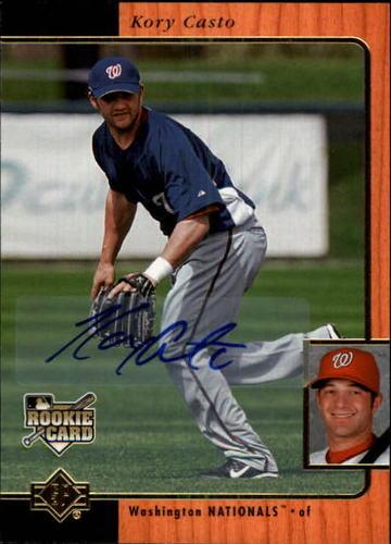 Photo of 2007 SP Rookie Edition Autographs #245 Kory Casto 96