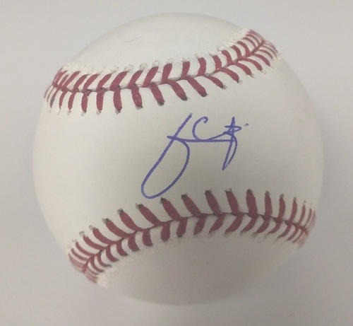 Photo of Julio Urias Autographed Baseball