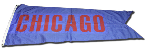 Wrigley Field Collection -- Rooftop Flag -- Chicago