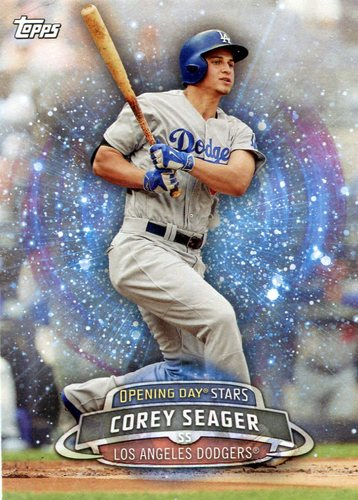 Photo of 2017 Topps Opening Day Opening Day Stars  Corey Seager